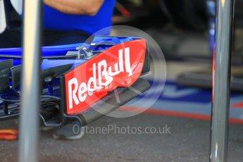 World © Octane Photographic Ltd. Formula 1 – German GP - Pitlane. Scuderia Toro Rosso STR13. Hockenheimring, Baden-Wurttemberg, Germany. Thursday 19th July 2018.