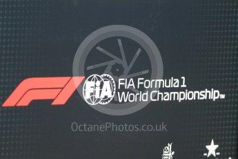 World © Octane Photographic Ltd. Formula 1 – German GP - logos. Hockenheimring, Baden-Wurttemberg, Germany. Thursday 19th July 2018.