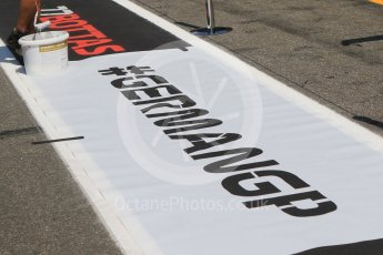 World © Octane Photographic Ltd. Formula 1 – German GP - #GermanGP. Hockenheimring, Baden-Wurttemberg, Germany. Thursday 19th July 2018.