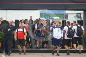 World © Octane Photographic Ltd. Formula 1 - German GP - Paddock. F1 Paddock curfew ends. Hockenheimring, Baden-Wurttemberg, Germany. Saturday 21st July 2018.