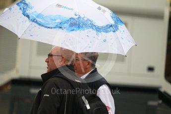 World © Octane Photographic Ltd. Formula 1 – German GP - Paddock. Rain in the early morning paddock. Hockenheimring, Baden-Wurttemberg, Germany. Saturday 21st July 2018.