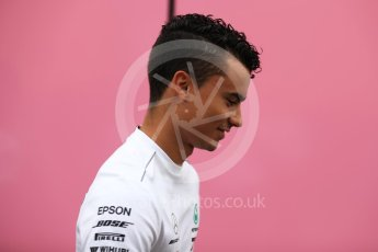 World © Octane Photographic Ltd. Formula 1 - German GP – Paddock. Pascal Wehrlein. Hockenheimring, Baden-Wurttemberg, Germany. Saturday 21st July 2018.