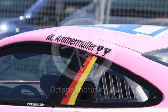 World © Octane Photographic Ltd. Porsche Mobil 1 Supercup. Michael Ammermüller - LechneRacing. Hockenheimring Paddock, Baden-Wurttemberg, Germany. Thursday 19th July 2018.