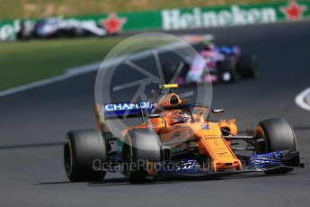 World © Octane Photographic Ltd. Formula 1 – Hungarian GP - Race. McLaren MCL33 – Stoffel Vandoorne. Hungaroring, Budapest, Hungary. Sunday 29th July 2018.