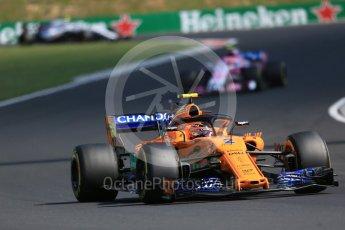 World © Octane Photographic Ltd. Formula 1 – Hungarian GP - Race. McLaren MCL33 – Stoffel Vandoorne. Hungaroring, Budapest, Hungary. Sunday 29th July 2018.