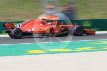 World © Octane Photographic Ltd. Formula 1 – Hungarian GP - Green flag lap. Scuderia Ferrari SF71-H – Kimi Raikkonen. Hungaroring, Budapest, Hungary. Sunday 29th July 2018.