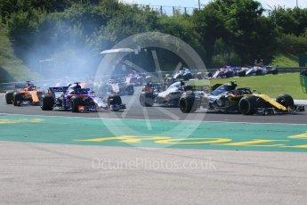 World © Octane Photographic Ltd. Formula 1 – Hungarian GP - Race. Scuderia Toro Rosso STR13 – Brendon Hartley. Hungaroring, Budapest, Hungary. Sunday 29th July 2018.