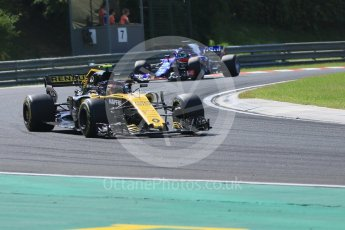 World © Octane Photographic Ltd. Formula 1 – Hungarian GP - Race. Renault Sport F1 Team RS18 – Carlos Sainz. Hungaroring, Budapest, Hungary. Sunday 29th July 2018.