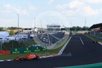 World © Octane Photographic Ltd. Formula 1 – Hungarian GP - Race. Scuderia Ferrari SF71-H – Kimi Raikkonen. Hungaroring, Budapest, Hungary. Sunday 29th July 2018.