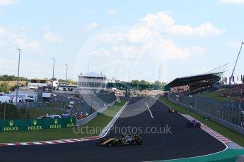 World © Octane Photographic Ltd. Formula 1 – Hungarian GP - Race. Renault Sport F1 Team RS18 – Carlos Sainz. Hungaroring, Budapest, Hungary. Sunday 29th July 2018.