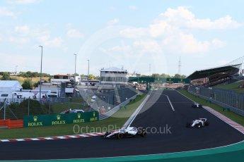 World © Octane Photographic Ltd. Formula 1 – Hungarian GP - Race. Williams Martini Racing FW41 – Sergey Sirotkin. Hungaroring, Budapest, Hungary. Sunday 29th July 2018.