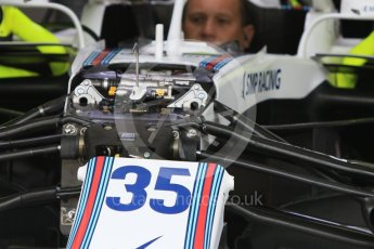 World © Octane Photographic Ltd. Formula 1 – Hungarian GP - Morning setup. Williams Martini Racing FW41 – Sergey Sirotkin. Hungaroring, Budapest, Hungary. Saturday 28th July 2018.