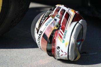 World © Octane Photographic Ltd. Formula 1 – Hungarian GP - Parc Ferme. Mercedes AMG Petronas Motorsport AMG F1 W09 EQ Power+ - Lewis Hamilton. Hungaroring, Budapest, Hungary. Sunday 29th July 2018.