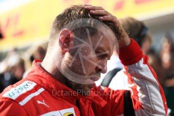 World © Octane Photographic Ltd. Formula 1 – Hungarian GP - Parc Ferme. Scuderia Ferrari SF71-H – Sebastian Vettel. Hungaroring, Budapest, Hungary. Sunday 29th July 2018.