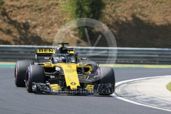 World © Octane Photographic Ltd. Formula 1 – Hungarian GP - Practice 1. Renault Sport F1 Team RS18 – Nico Hulkenberg. Hungaroring, Budapest, Hungary. Friday 27th July 2018.