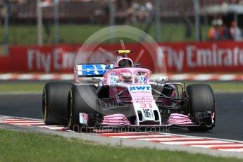 World © Octane Photographic Ltd. Formula 1 – Hungarian GP - Practice 1. Sahara Force India VJM11 - Esteban Ocon. Hungaroring, Budapest, Hungary. Friday 27th July 2018.
