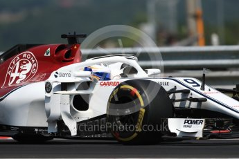 World © Octane Photographic Ltd. Formula 1 – Hungarian GP - Practice 1. Alfa Romeo Sauber F1 Team C37 – Marcus Ericsson. Hungaroring, Budapest, Hungary. Friday 27th July 2018.