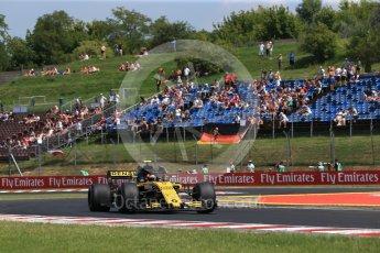 World © Octane Photographic Ltd. Formula 1 – Hungarian GP - Practice 1. Renault Sport F1 Team RS18 – Carlos Sainz. Hungaroring, Budapest, Hungary. Friday 27th July 2018.