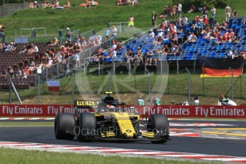 World © Octane Photographic Ltd. Formula 1 – Hungarian GP - Practice 1. Renault Sport F1 Team RS18 – Carlos Sainz. Hungaroring, Budapest, Hungary. Friday 27th July 2018.