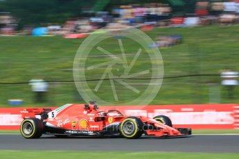 World © Octane Photographic Ltd. Formula 1 – Hungarian GP - Practice 2. Scuderia Ferrari SF71-H – Sebastian Vettel. Hungaroring, Budapest, Hungary. Friday 27th July 2018.