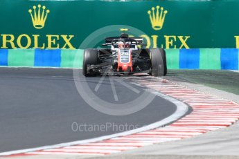 World © Octane Photographic Ltd. Formula 1 – Hungarian GP - Practice 3. Haas F1 Team VF-18 – Kevin Magnussen. Hungaroring, Budapest, Hungary. Saturday 28th July 2018.