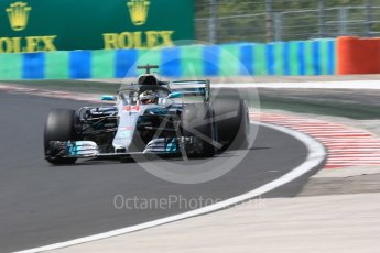 World © Octane Photographic Ltd. Formula 1 – Hungarian GP - Practice 3. Mercedes AMG Petronas Motorsport AMG F1 W09 EQ Power+ - Lewis Hamilton. Hungaroring, Budapest, Hungary. Saturday 28th July 2018.