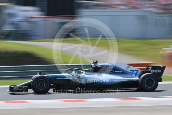 World © Octane Photographic Ltd. Formula 1 – Hungarian GP - Practice 3. Mercedes AMG Petronas Motorsport AMG F1 W09 EQ Power+ - Valtteri Bottas. Hungaroring, Budapest, Hungary. Saturday 28th July 2018.