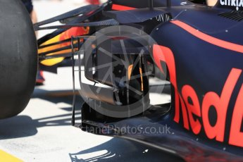 World © Octane Photographic Ltd. Formula 1 – Hungarian GP - Practice 3. Aston Martin Red Bull Racing TAG Heuer RB14. Hungaroring, Budapest, Hungary. Saturday 28th July 2018.