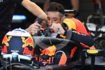 World © Octane Photographic Ltd. Formula 1 – Hungarian GP - Practice 3. Aston Martin Red Bull Racing TAG Heuer RB14 – Daniel Ricciardo. Hungaroring, Budapest, Hungary. Saturday 28th July 2018.
