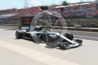 World © Octane Photographic Ltd. Formula 1 – Hungarian GP - Practice 3. Mercedes AMG Petronas Motorsport AMG F1 W09 EQ Power+ - Valtteri Bottas. Hungaroring, Budapest, Hungary. Saturday 28th July 2018.