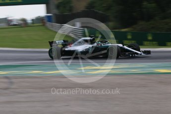World © Octane Photographic Ltd. Formula 1 – Hungarian GP - Qualifying. Mercedes AMG Petronas Motorsport AMG F1 W09 EQ Power+ - Lewis Hamilton. Hungaroring, Budapest, Hungary. Saturday 28th July 2018.