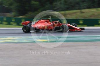 World © Octane Photographic Ltd. Formula 1 – Hungarian GP - Qualifying. Scuderia Ferrari SF71-H – Kimi Raikkonen. Hungaroring, Budapest, Hungary. Saturday 28th July 2018.