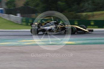 World © Octane Photographic Ltd. Formula 1 – Hungarian GP - Qualifying. Renault Sport F1 Team RS18 – Nico Hulkenberg. Hungaroring, Budapest, Hungary. Saturday 28th July 2018.