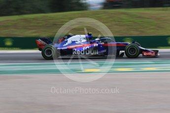 World © Octane Photographic Ltd. Formula 1 – Hungarian GP - Qualifying. Scuderia Toro Rosso STR13 – Pierre Gasly. Hungaroring, Budapest, Hungary. Saturday 28th July 2018.