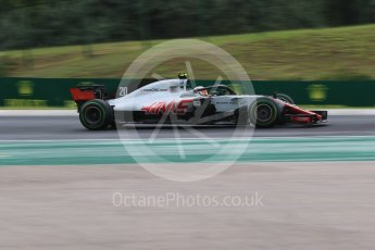 World © Octane Photographic Ltd. Formula 1 – Hungarian GP - Qualifying. Haas F1 Team VF-18 – Kevin Magnussen. Hungaroring, Budapest, Hungary. Saturday 28th July 2018.