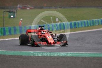 World © Octane Photographic Ltd. Formula 1 – Hungarian GP - Qualifying. Scuderia Ferrari SF71-H – Sebastian Vettel. Hungaroring, Budapest, Hungary. Saturday 28th July 2018.