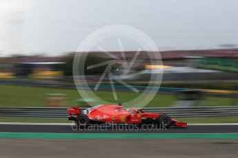 World © Octane Photographic Ltd. Formula 1 – Hungarian GP - Qualifying. Scuderia Ferrari SF71-H – Sebastian Vettel. Hungaroring, Budapest, Hungary. Saturday 28th July 2018.