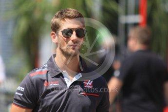 World © Octane Photographic Ltd. Formula 1 – Hungarian GP - Paddock. Haas F1 Team VF-18 – Romain Grosjean. Hungaroring, Budapest, Hungary. Sunday 29th July 2018.