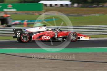 World © Octane Photographic Ltd. FIA Formula 2 (F2) – Hungarian GP - Qualifying. Charouz - Louis Delatraz. Hungaroring, Budapest, Hungary. Friday 27th July 2018.
