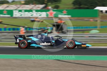 World © Octane Photographic Ltd. FIA Formula 2 (F2) – Hungarian GP - Qualifying. DAMS - Nicholas Latifi. Hungaroring, Budapest, Hungary. Friday 27th July 2018.