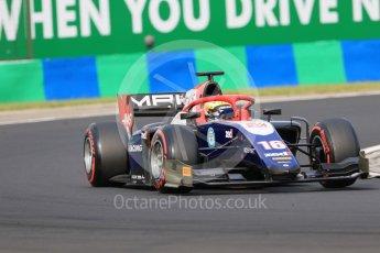 World © Octane Photographic Ltd. FIA Formula 2 (F2) – Hungarian GP - Qualifying. Trident - Arjun Maini. Hungaroring, Budapest, Hungary. Friday 27th July 2018.