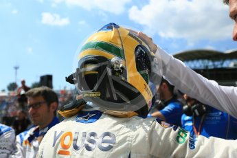 World © Octane Photographic Ltd. FIA Formula 2 (F2) – Hungarian GP - Race 2. Carlin - Sergio Sette Camara. Hungaroring, Budapest, Hungary. Sunday 29th July 2018.