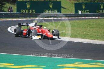 World © Octane Photographic Ltd. FIA Formula 2 (F2) – Hungarian GP - Race 2. Charouz - Antonio Fuoco. Hungaroring, Budapest, Hungary. Sunday 29th July 2018.