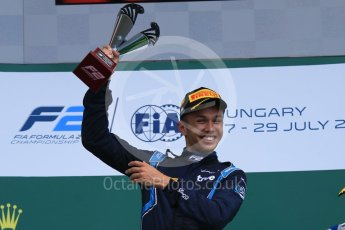 World © Octane Photographic Ltd. FIA Formula 2 (F2) – Hungarian GP - Race 2. DAMS - Alexander Albon. Hungaroring, Budapest, Hungary. Sunday 29th July 2018.