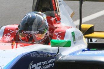 World © Octane Photographic Ltd. GP3 – Hungarian GP – Qualifying. Trident - David Beckmann. Hungaroring, Budapest, Hungary. Saturday 28th July 2018.