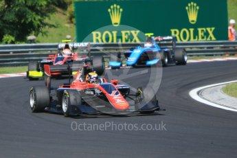 World © Octane Photographic Ltd. GP3 – Hungarian GP – Race 2. ART Grand Prix - Callum Illot and Anthoine Hubert. Hungaroring, Budapest, Hungary. Sunday 29th July 2018.