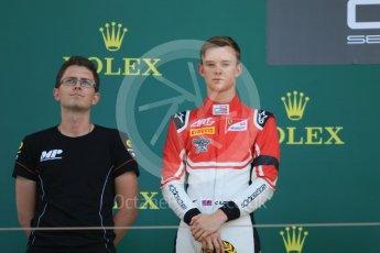 World © Octane Photographic Ltd. GP3 – Hungarian GP – Race 2. ART Grand Prix - Callum Illot. Hungaroring, Budapest, Hungary. Sunday 29th July 2018.