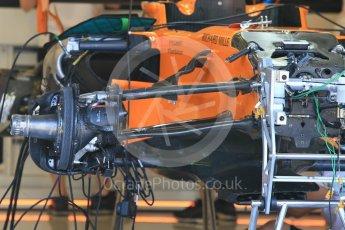 World © Octane Photographic Ltd. Formula 1 – Hungarian GP - Pitlane. McLaren MCL33. Hungaroring, Budapest, Hungary. Thursday 26th July 2018.