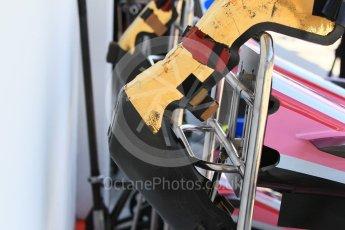 World © Octane Photographic Ltd. Formula 1 – Hungarian GP - Pitlane. Sahara Force India VJM11 - Esteban Ocon. Hungaroring, Budapest, Hungary. Thursday 26th July 2018.