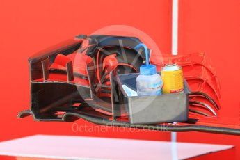World © Octane Photographic Ltd. Formula 1 – Hungarian GP - Pitlane. Scuderia Ferrari SF71-H. Hungaroring, Budapest, Hungary. Thursday 26th July 2018.
